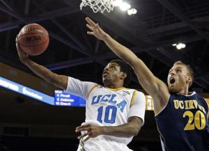 No. 13 UCLA rallies in OT to beat UC Irvine 80-79