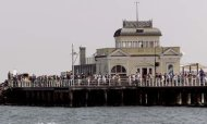 Facebook User Glued To Phone Walks Off Pier