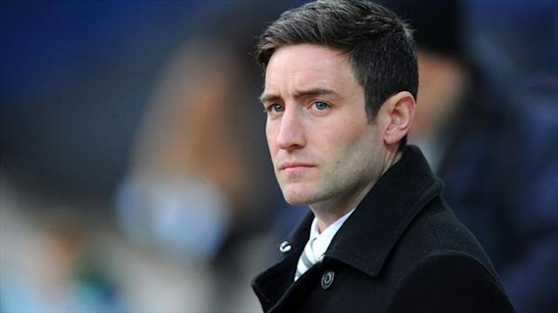 Oldham boss Lee Johnson, pictured, made Sidney Schmeltz his third signing of the summer