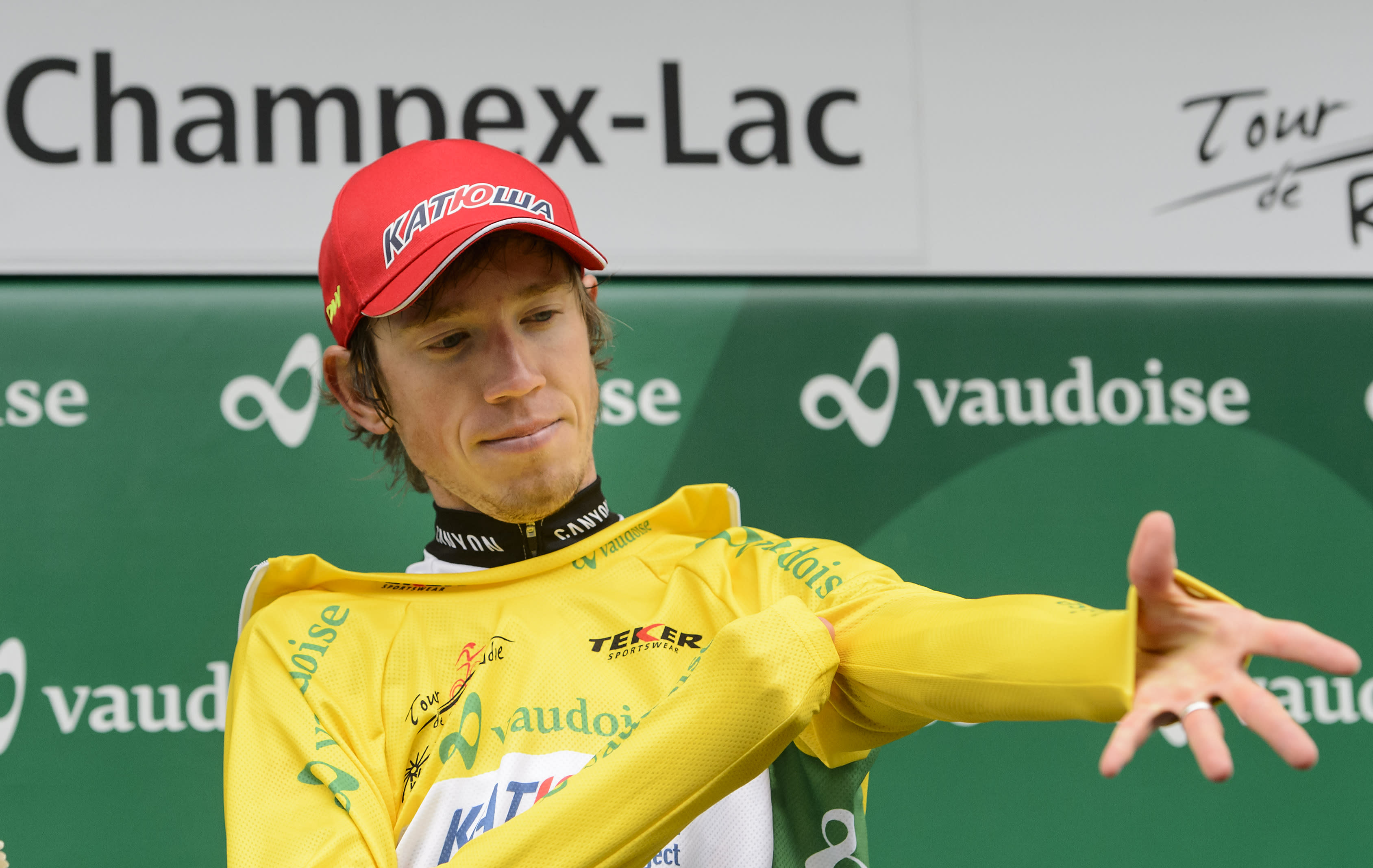 Russia's Zakarin gets career-best win at Tour of Romandie
