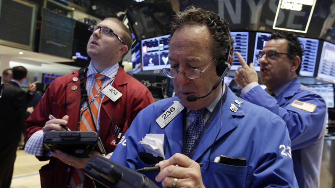 Stock market manages slight gain after choppy day