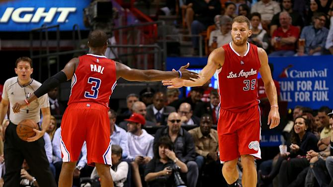 Clippers grab big early lead, roll by Heat 110-93