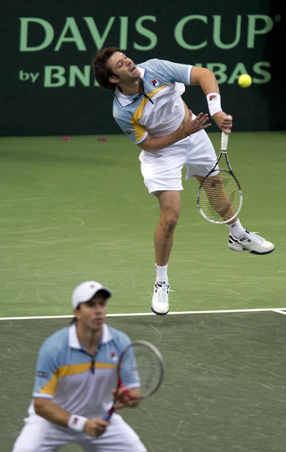 Czechs oust Argentina to reach Davis Cup final
