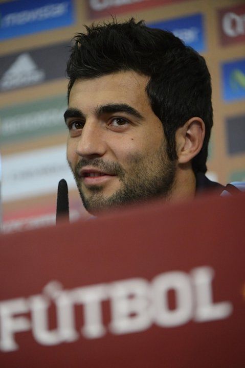 Spanish Defender Raul Albiol Speaks AFP/Getty Images