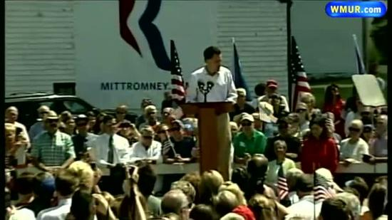 Romney focuses on economy in NH visit