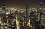 "<p>The downtown Chicago skyline. FBI agents have arrested a Chicago teen hoping to engage in ""violent jihad"" after he tried to detonate what he thought was a car bomb outside a bar in downtown Chicago, officials said.</p>"
