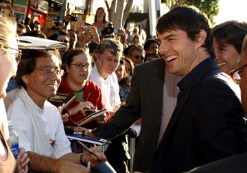 Tom Cruise at the Hollywood premiere of Warner Bros. Pictures' Batman Begins
