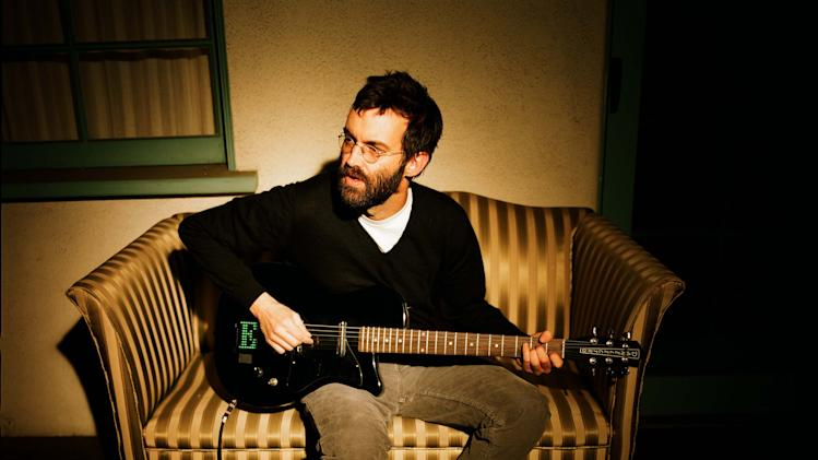 In this undated photo released by Sacks & Co., musician E from the band Eels, is shown. Eels returns to the U.S. after appearing at England's famed Glastonbury Festival of Contemporary Performing Arts and touring China for the first time. (AP Photo/Sacks & Co., Autumn de Wilde)