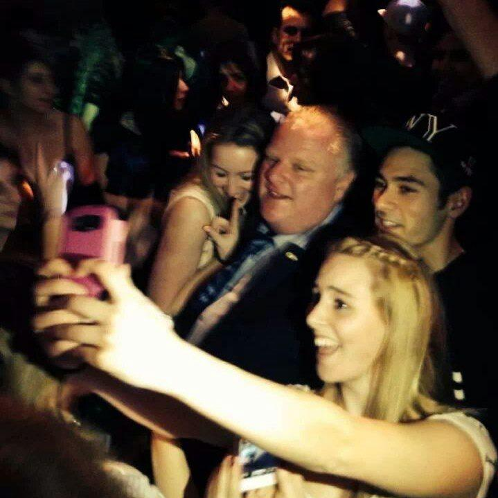 The Never Pedestrian Rob Ford Got Ticketed for Jaywalking Last Night