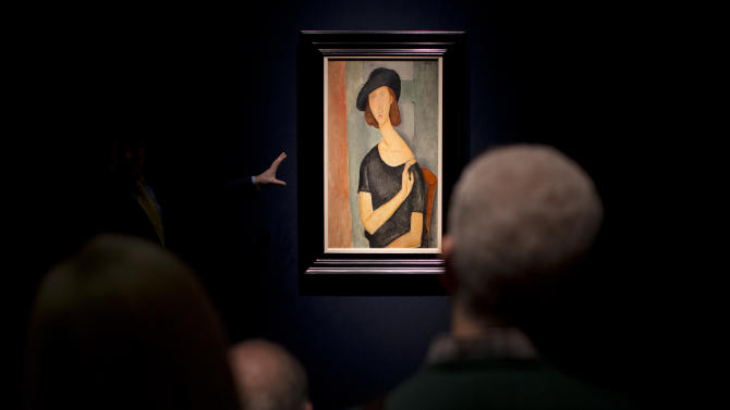 Modigliani portrait sells for $42M in London