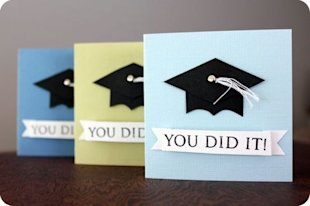 You Did it! Graduation Cards