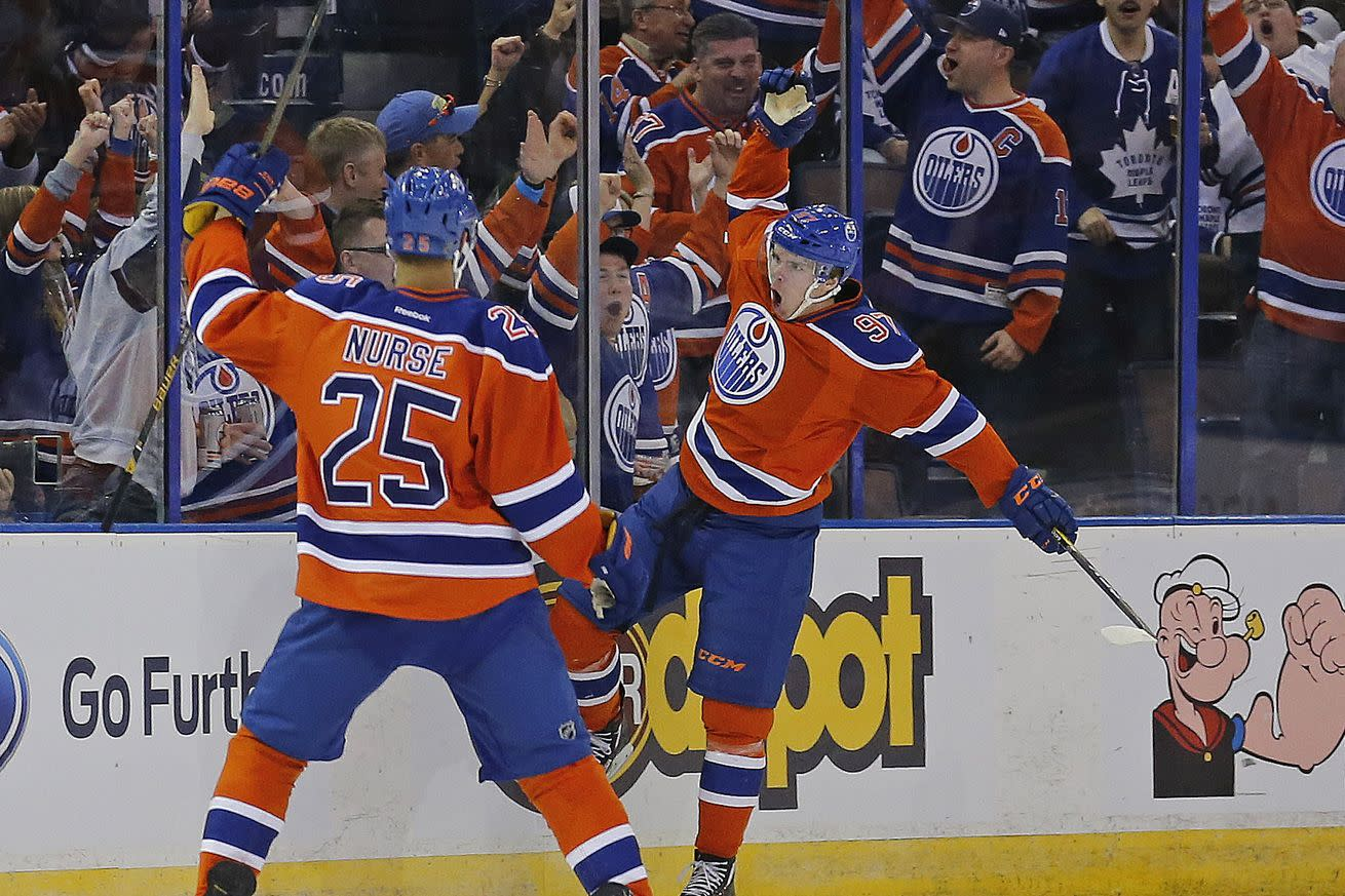 NHL scores 2016: Connor McDavid racks up another incredible night against Toronto