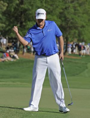 Holmes completes comeback with win at Quail Hollow