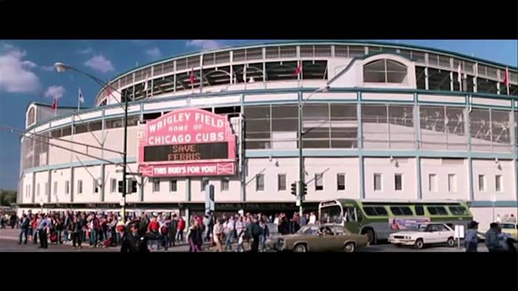 Wrigley Field in the movies
