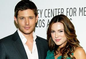 Jensen Ackles and Danneel Harris | Photo Credits: Beck Starr/FilmMagic