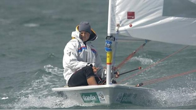 Sailing - Young remains perfect at Princess Sofia World Cup regatta