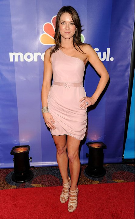 Danneel Harris attends the 2010 NBC Upfront presentation at The Hilton Hotel on May 17, 2010 in New York City.