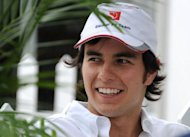 Mexican driver Sergio Perez of Mexico replaces Briton Lewis Hamilton at McLaren. Hamilton is to replace Michael Schumacher at Mercedes next season, the Formula One firm has announced, bringing to an end months of speculation about his future at McLaren