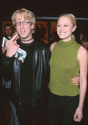 "Andy Dick and his ""gal pal"" at the premiere of 20th Century Fox's The Beach"