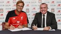 Jurgen Klopp announced as new Liverpool manager