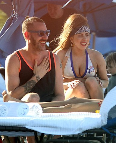 PICTURES: Lady Gaga Shows Off Fuller Bikini Body in Puerto Rico