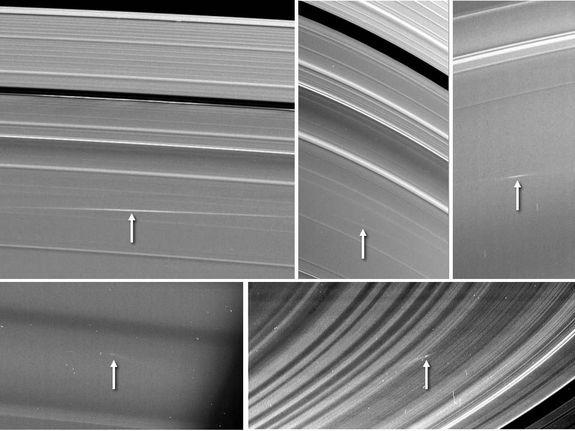 Saturn's Rings Bombarded by Space Rocks
