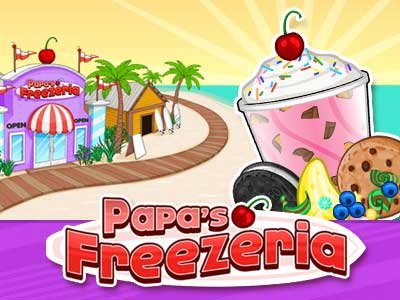 Papas Pizzeria Online Game For Kids