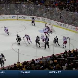Mike Smith Save on Blake Comeau (07:25/1st)