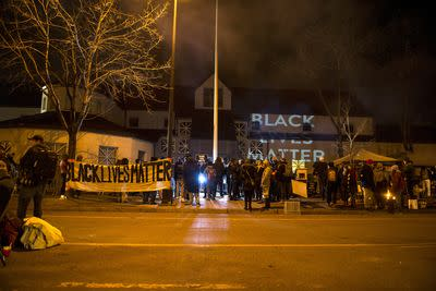 5 Black Lives Matter protesters shot in Minneapolis