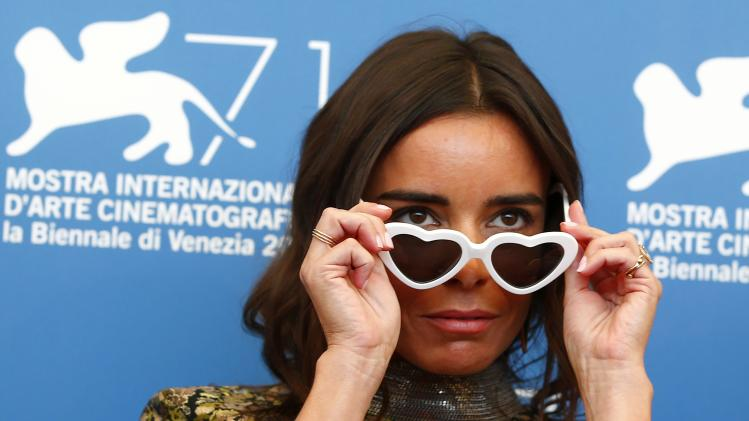 """Actress Bouchez poses during the photo call for the movie """"Reality"""" at the 71st Venice Film Festival"""