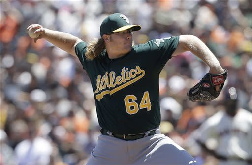 Zito beats former A's club as Giants avoid sweep