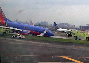 In this photo provided by Jared Rosenstein, a Southwest…