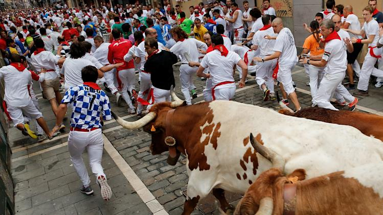 Fiesta De San Fermin Running Of The Bulls - Day 7