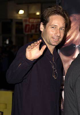 Premiere: David Duchovny at the Westwood premiere of MGM's Bandits - 10/4/2001 