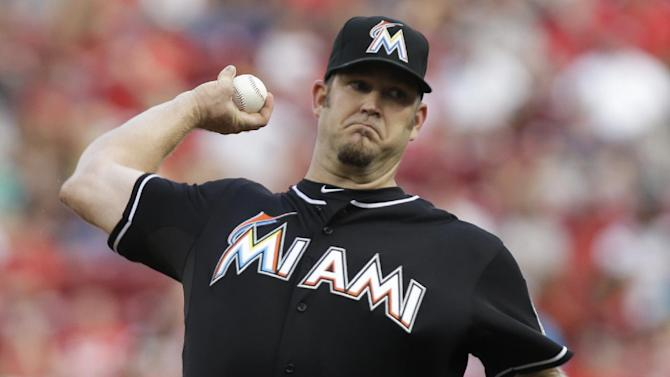 Penny returns, Marlins beat Reds 4-3