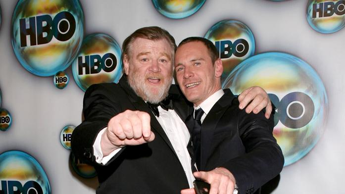 Brendan Gleeson and Michael Fassbender