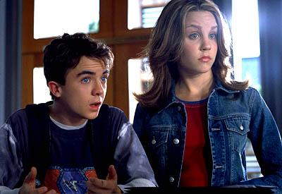 Frankie Muniz and Amanda Bynes in Univeral's Big Fat Liar
