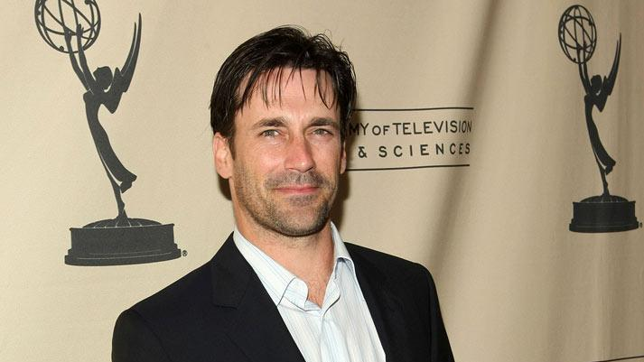 "Jon Hamm arrives at the Academy of Television Arts & Sciences Presents An Evening with ""Mad Men"" held at the Academy of Television Arts & Sciences on March 10, 2008 in North Hollywood, California."