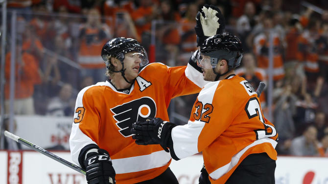 Flyers use four power-play goals to beat Capitals