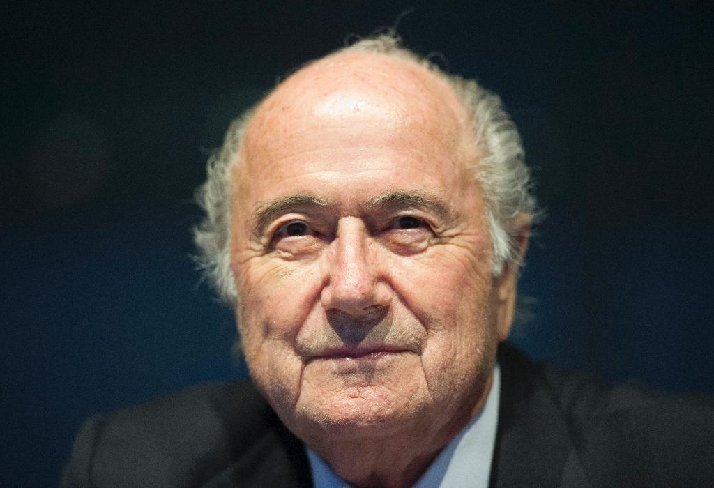 Blatter says football must move away from Europe