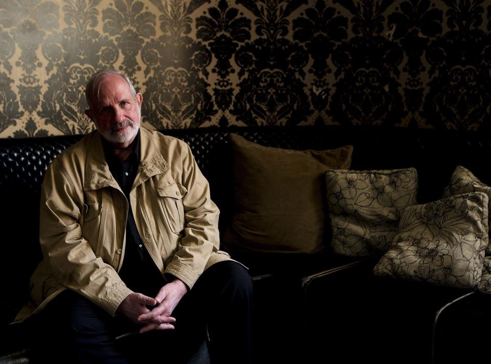 "Director Brian De Palma poses for a photograph for the movie ""Passion"" during the 2012 Toronto International Film Festival in Toronto on Tuesday Sept. 11, 2012. (AP Photo/The Canadian Press, Michelle Siu)"