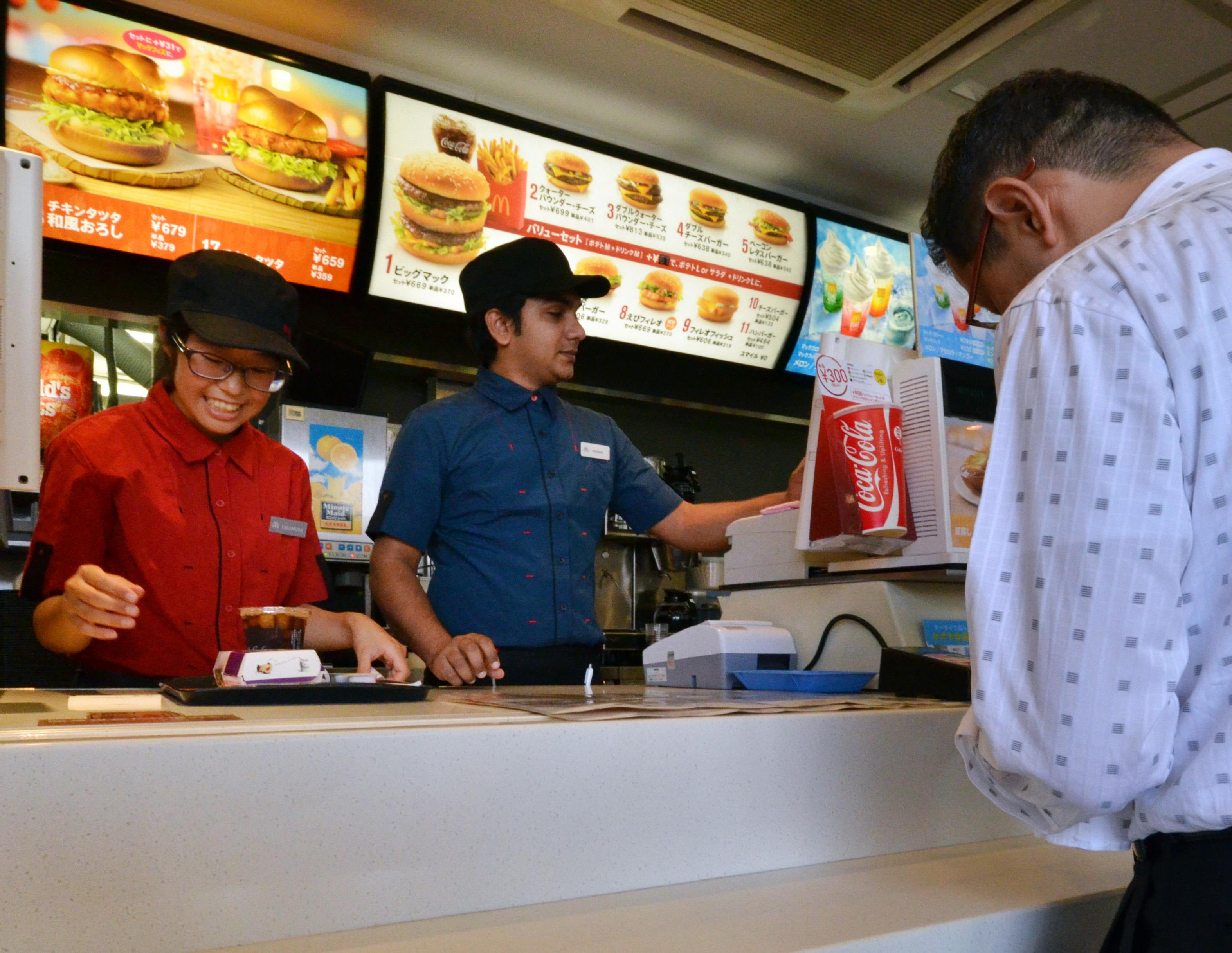 McDonald's Japan rations chips despite emergency airlift
