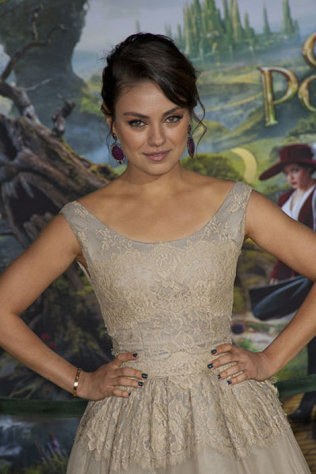 Mila Kunis is one of the sexiest female movie villains