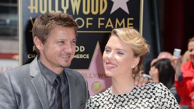 Scarlett Johansson Honored On The Hollywood Walk Of Fame