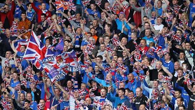 There were reports of inappropriate chanting by Rangers fans against Berwick