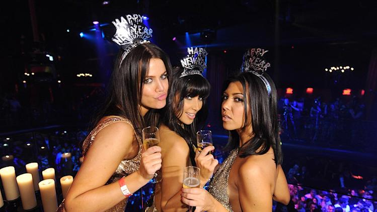 Kardashian K K K NYE Party