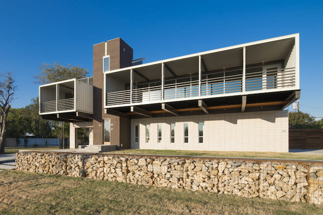Adaptive Reuse: Tour a Practical Modern Pad Built from 14 Shipping Containers