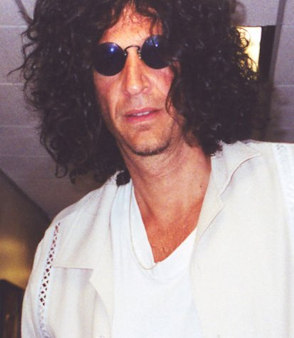 Radio icon Howard Stern.