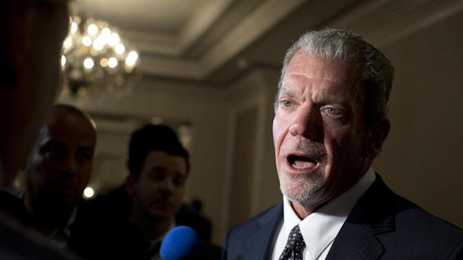 Jim Irsay arrested on suspicion of DUI.