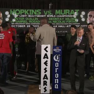 Bernard Hopkins vs. Karo Murat Weigh-In